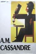 A.M.Cassandre by Henri Mouron