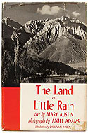 The Land of Little Rain by Ansel Adams & Mary Austin