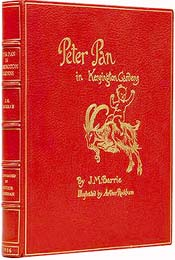 Peter Pan in Kensington Gardens by J.M. Barrie, illustrated by Arthur Rackham