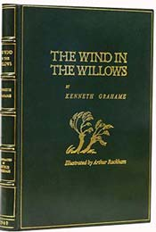 The Wind in the Willows by Kenneth Grahame, illustrated by Arthur Rackham