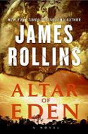 Signed copies of Altar of Eden by James Rollins