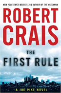 Signed copies of The First Rule by Robert Crais