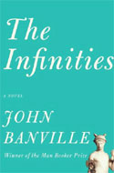 Signed copies of The Infinities by John Banville