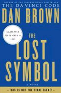 Signed copies of The Lost Symbol by Dan Brown