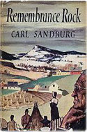 Remembrance Rock - Carl Sandburg: US 1948 First Edition Hardcover