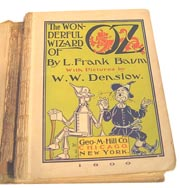 1st Edition Wizard of Oz by L. Frank Baum