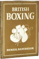British Boxing by Denzil Batchelor