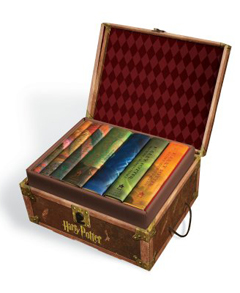 Harry Potter Hardcover Boxed Set, Signature Edition