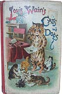 Louis Wain's Cats and Dogs (illustrated by Louis Wain)
