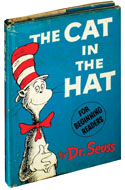 The Cat in the Hat, First Edition, First Printing by Dr. Seuss