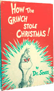 How the Grinch Stole Christmas, First Edition, First Printing by Dr. Seuss