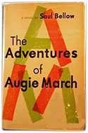 US first edition The Adventures of Augie March - Saul Bellow