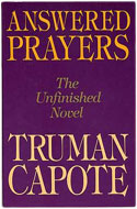 US first edition Answered Prayers - Truman Capote