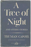 US first edition A Tree of Night - Truman Capote
