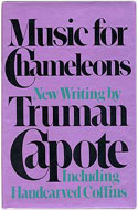 US first edition Music for Chameleons - Truman Capote
