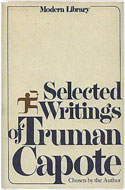 US 1979 printing hardcover Selected Writings of Truman Capote - Truman Capote