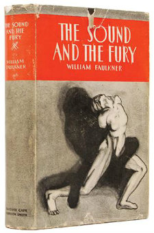 First Edition of The Sound and the Fury by William Faulkner