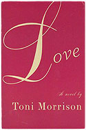 US stated first edition paperback Love - Toni Morrison