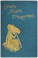 UK 1893 First Edition Hard Cover Island Nights' Entertainments - Robert Louis Stevenson