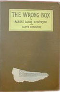 US 1889 First US Edition The Wrong Box - Robert Louis Stevenson
