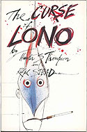 US first edition paperback The Curse of Lono - Hunter S. Thompson