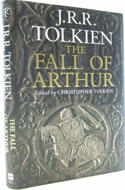 First edition The Fall of Arthur - J.R.R. Tolkien