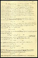 Einstein′s notes on Unified Field Theory