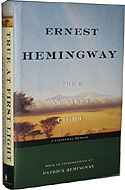 torrents of spring bu ernest hemingway essay The torrents of spring is a novella written by ernest hemingway, published in 1926subtitled a romantic novel in honor of the passing of a great race, hemingway used the work as a spoof of.