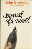Journal of a Novel. The 'East of Eden' Letters by John Steinbeck