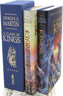 A Clash of Kings Limited Edition 2 Volume Set from Subterranean Press