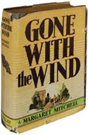 May 1936 True First Edition, First Printing of Gone with the Wind by Margaret Mitchell