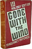 1939 UK Holiday Edition of Gone with the Wind by Margaret Mitchell