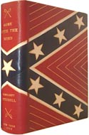 First Edition, First Printing copy of Gone with the Wind by Margaret Mitchell in a custom Morocco binding