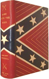 Signed First Edition of Gone with the Wind in Custom Southern Cross-designed Morocco binding