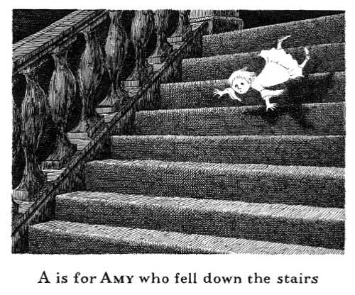Edward Gorey S Books Of Eerie Glory