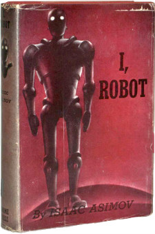 I, Robot Gnome Press, 1950 first edition, first printing by Isaac Asimov