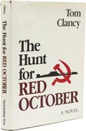 Tom Clancy, author of The Hunt for Red October
