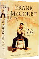 'Tis by Frank McCourt is the sequel to Angela's Ashes