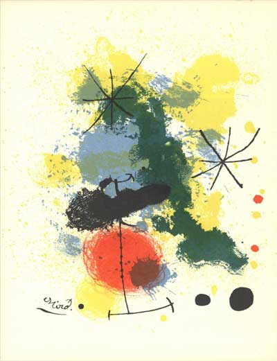 Lovely lithographs from picasso to chagall mir for Joan miro interieur hollandais