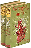 Around the World in a Bicycle, in Two Volumes, by Thomas Stevens
