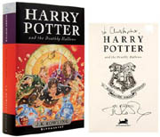 Most expensive harry potter sales on abebooks.