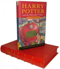 First Edition of Harry Potter and the Philosopher's Stone by JK Rowling