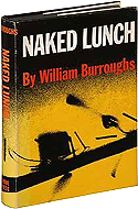 Naked Lunch by William S. Burroughs - 1959, Grove Press