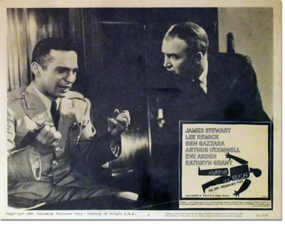 Lobby Card: Anatomy of a Murder