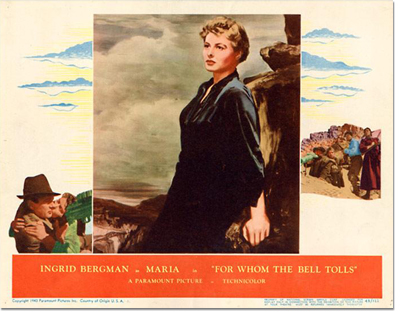 Lobby Card: For Whom the Bell Tolls