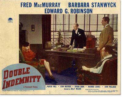 Lobby Card: Double Indemnity
