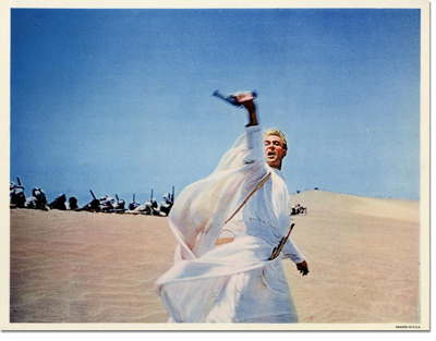 Lawrence of Arabia Lobby Card
