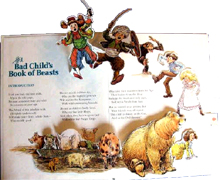 The Bad Child's Pop-up Book of Beasts by Wallace Tripp