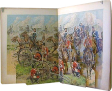 The Soldier Panorama Book by Ernest Nister