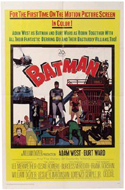 Batman Movie Poster (Adam West, Burt Ward)